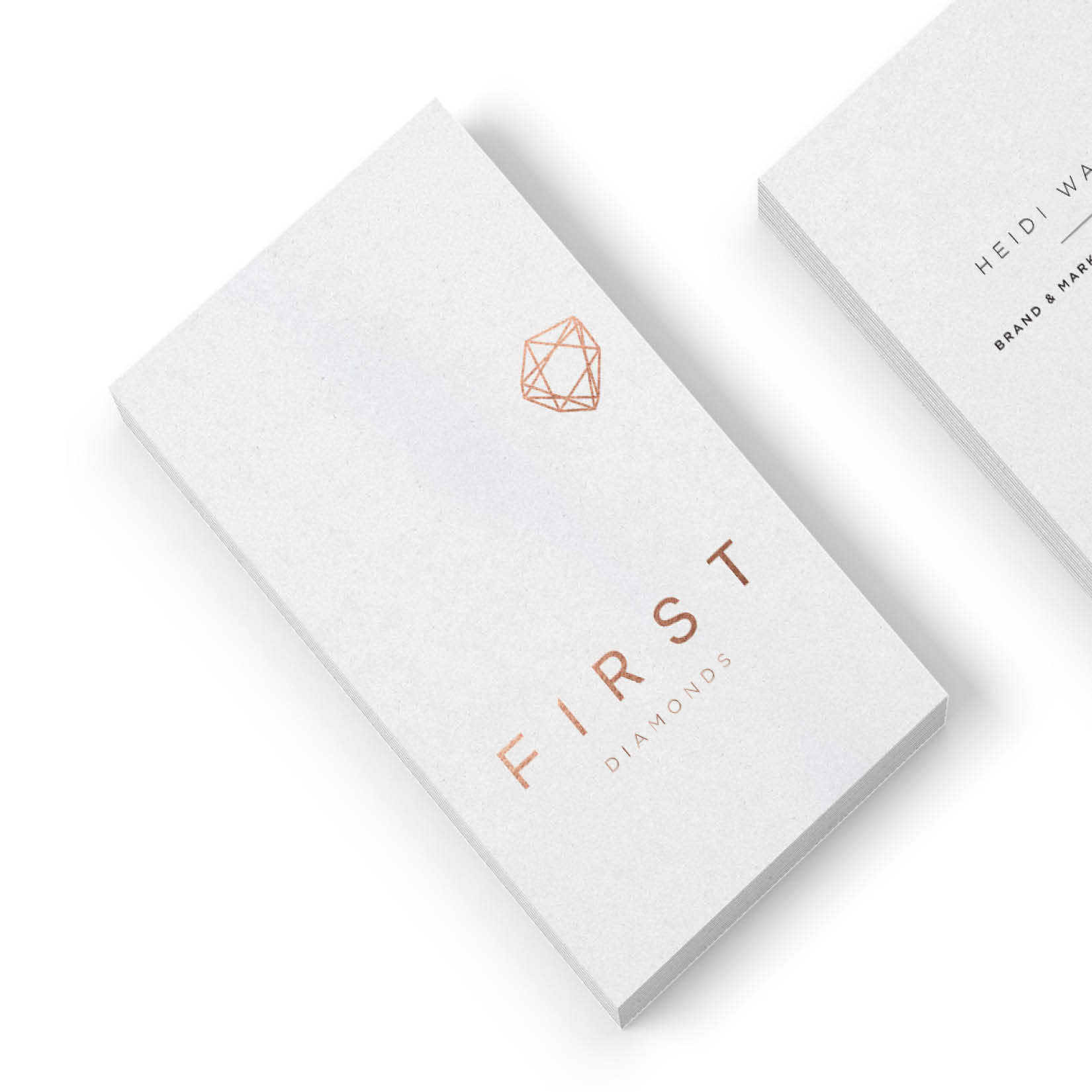 first diamonds | identity design
